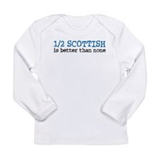 Cool Scottish Long Sleeve Infant T-Shirt
