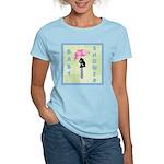 Baby Shower Blue Women's Light T-Shirt