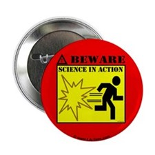 "MYTHBUSTERS SCIENCE IN ACTION 2.25"" Button (100 pa"