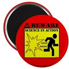 "MYTHBUSTERS SCIENCE IN ACTION 2.25"" Magnet (10 pac"