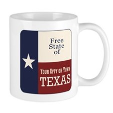 Free State of Texas Mugs