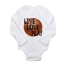 Live, Love, Play - Basketball Body Suit