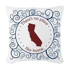 California Woven Throw Pillow