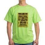 Jesse Dead or Alive Green T-Shirt