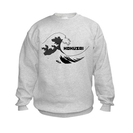 Hokusai Wave Kids Sweatshirt