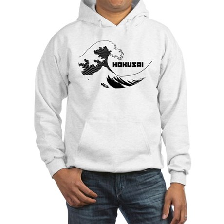Hokusai Wave Hooded Sweatshirt