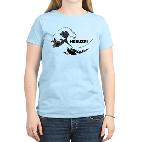 Hokusai Wave Womens Light T-Shirt