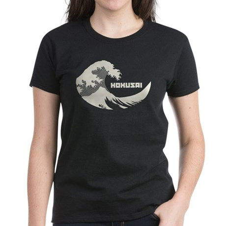 Hokusai Wave Womens T-Shirt