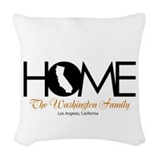 California Home Woven Throw Pillow