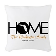 Florida Home Woven Throw Pillow