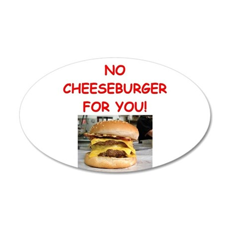 cheeseburger Wall Decal