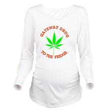 Unique 420 Long Sleeve Maternity T-Shirt