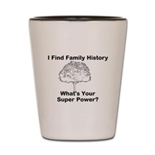 I Find Family History, Whats Your Super Power? Sho