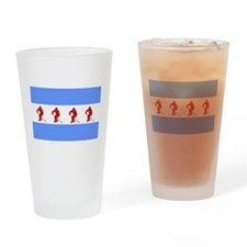 Chicago Hockey Drinking Glass