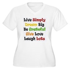 Live Simply in Bl T-Shirt