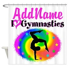 GYMNAST STAR Shower Curtain