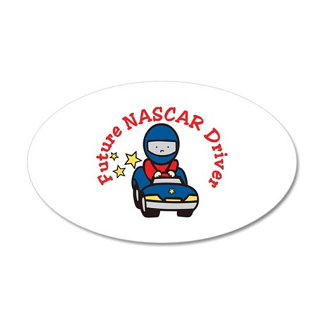 Future NASCAR Driver Wall Decal