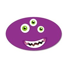 Purple People Eater Wall Decal