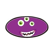 Purple People Eater Patches