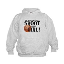 Shoot Like a Girl Hoodie