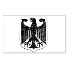 German Eagle Rectangle Decal