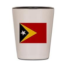 Timor-Leste Flag Shot Glass