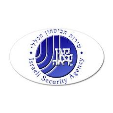 ISA: Shabak (Shin Bet) 35x21 Oval Wall Decal