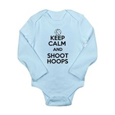 Keep Calm and Shoot Hoops Body Suit
