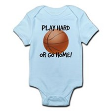 Play Hard or Go Home - Basketball Body Suit