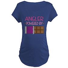 Angler powered by chocolate T-Shirt