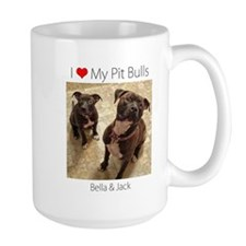 Unique Pit bull love Mug