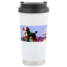 Cute Poodle puppies Travel Mug