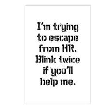 Human resources Postcards (Package of 8)