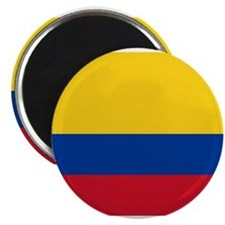 Unique Colombia flag Magnet