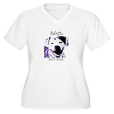 Adopt Dont Shop Dog Plus Size T-Shirt