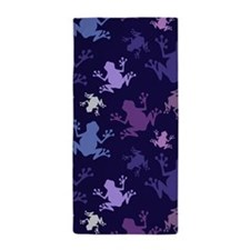 Frog Pattern; Purple, Violet, Lavender, Plum, Gray