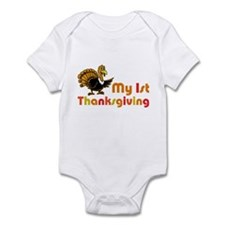 My First Thanksgiving Infant Bodysuit