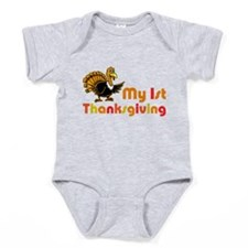 My First Thanksgiving Baby Bodysuit