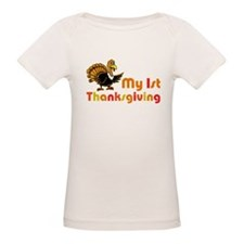 My First Thanksgiving Organic Baby T-Shirt