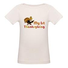 My First Thanksgiving Organic Baby T-Shirt
