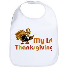 My First Thanksgiving Baby Bib