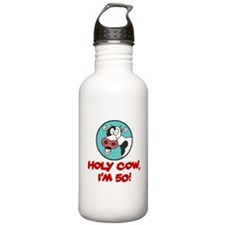 Holy Cow Im 50 Drinkware Water Bottle