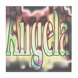 Angela ~personalized~ Tile Coaster