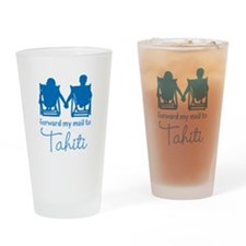 Tahiti Drinking Glass