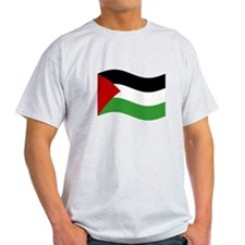 Waving Palestine Flag T-Shirt
