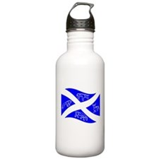 Waving Pictish Scotland Flag #1 Water Bottle