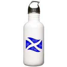Waving Pictish Scotland Flag #2 Water Bottle