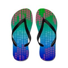 Cute Polka dot Flip Flops
