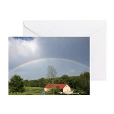Farm Rainbow Greeting Cards