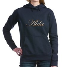 Gold name Alda Women's Hooded Sweatshirt